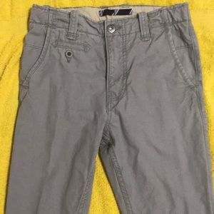 Boys' GAP Gray Pants Size 14 Slim